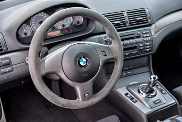 BMW E46 M3 steering wheel control