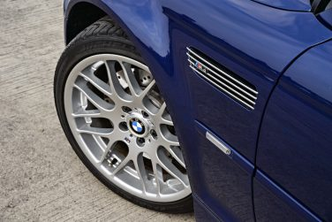 BMW E46 M3 interlaces blue