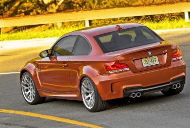 BMW E82 1M Valencia Orange