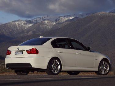 BMW E90 330d White