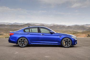 BMW F90 M5 blue