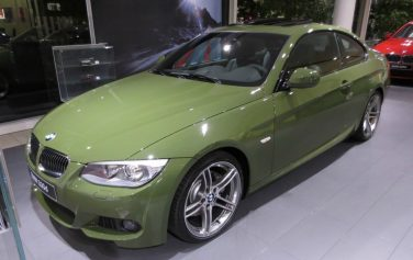 BMW individual urban green