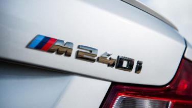 BMW M240i badge