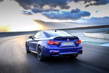 BMW M4 CS blue