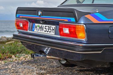 BMW E12 M535i rear quarter