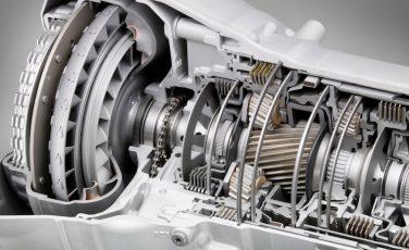 BMW Transmission cutaway