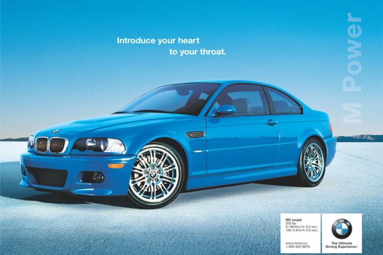 BMW E46 M3 Laguna Seca Blue