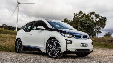 BMW i3 white