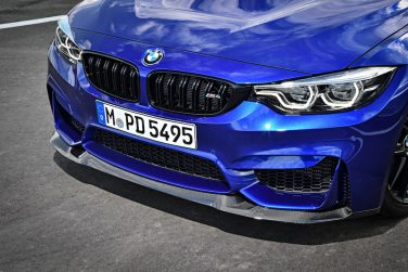 BMW M4 CS carbon fiber front splitter