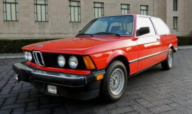 BMW 1982 320is E21 Henna Red