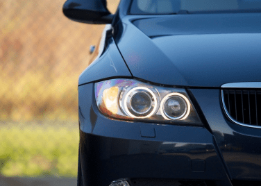 BMW E90 xenon headlight