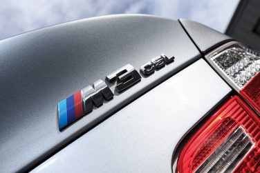 BMW E46 M3 CSL badge