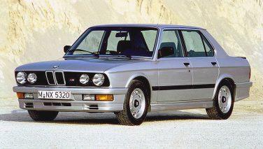 BMW E28 M535i silver