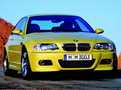 BMW E46 M3 Phoenix Yellow