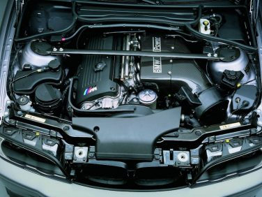 BMW E46 M3 CSL engine