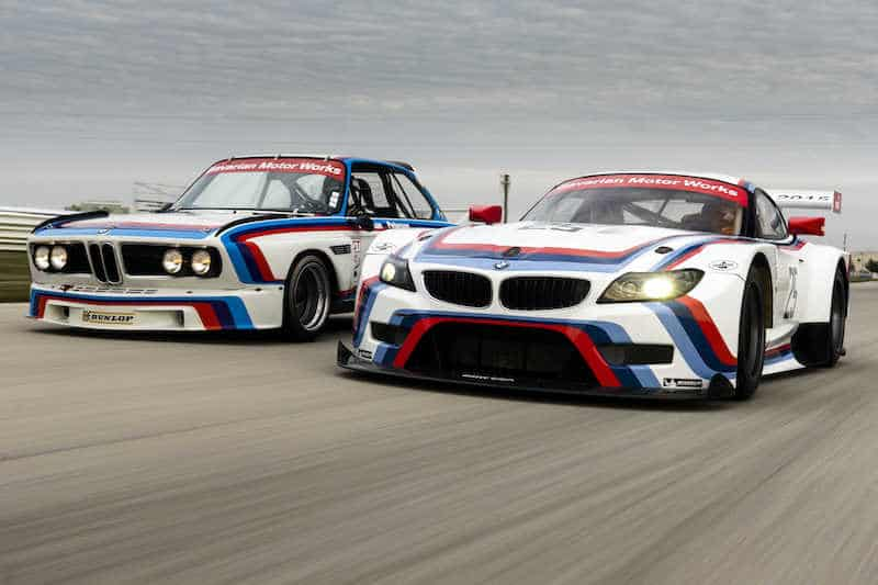 Origin Of Bmw Motorsport M Stripe Colors Bimmertips Com