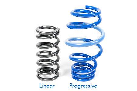 Linear vs Progressive spring rates