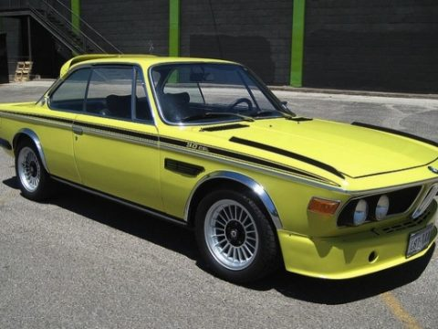 BMW E9 CSL Golf Yellow