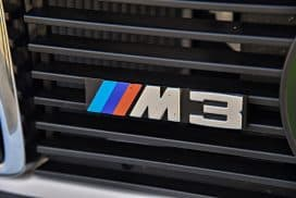 BMW E30 M3 grill badge