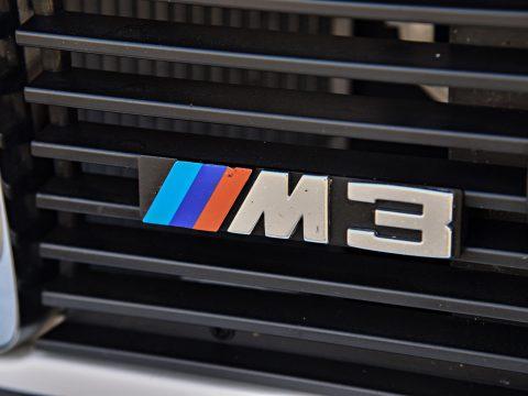BMW E30 M3 grill badge
