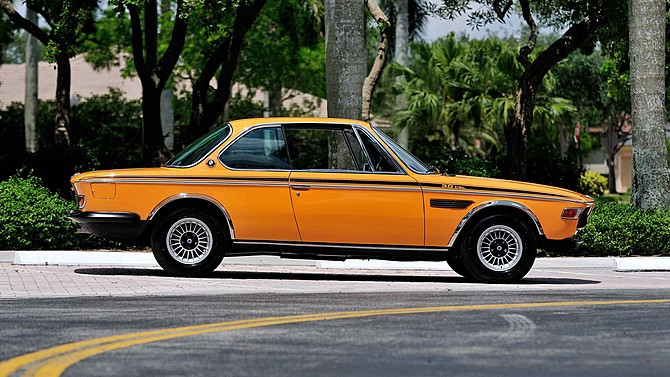 BMW E9 CSL Colorado Orange