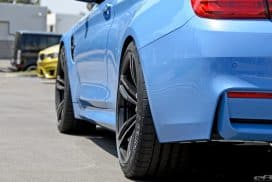 BMW F30 M4 wheel offset