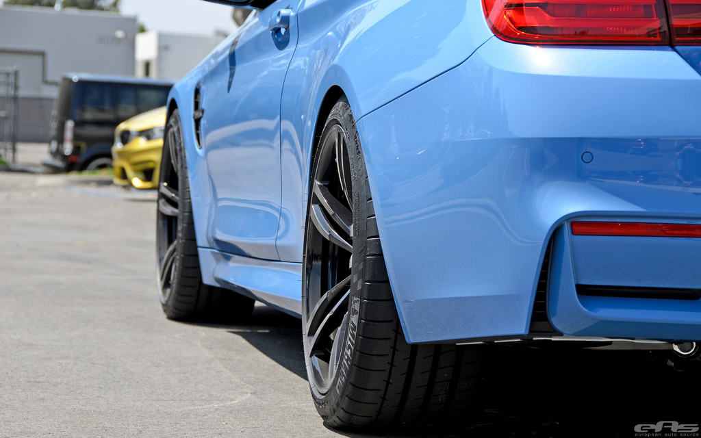 BMW F30 M4 wheel offset spacers