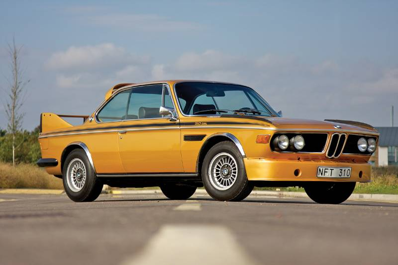 BMW E9 CSL Ceylon Metallic