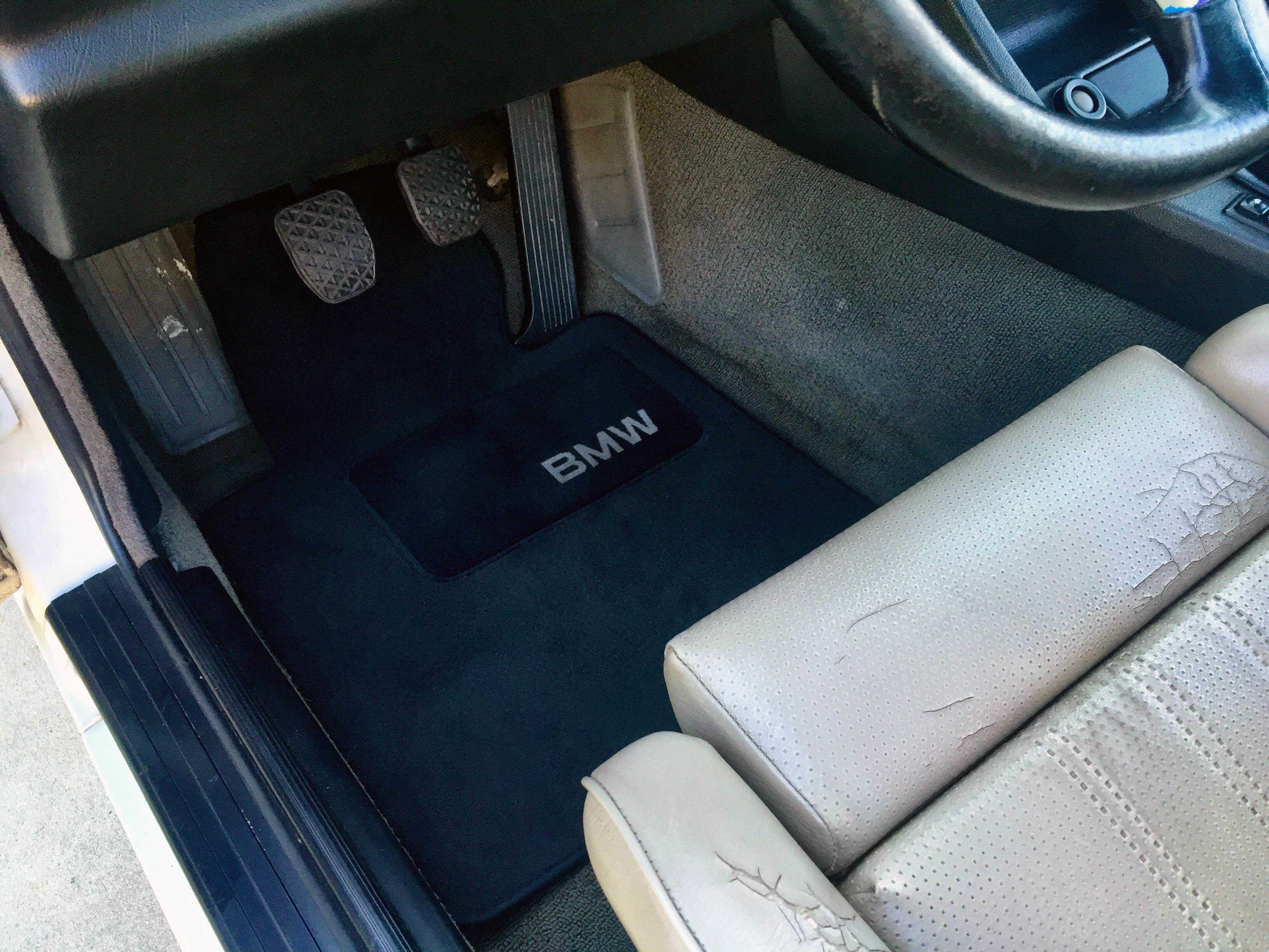 OEM BMW E30 Floor Mat Option E46