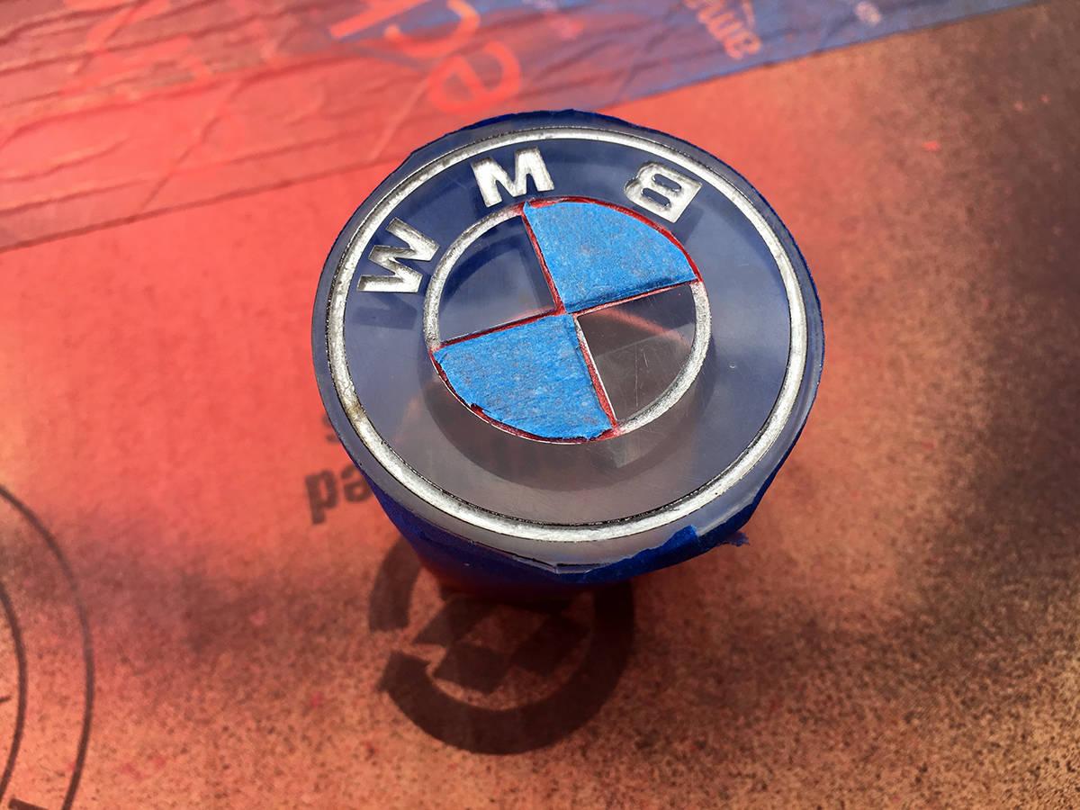 Diy Custom Color Bmw Steering Wheel Roundel Bimmertips Com