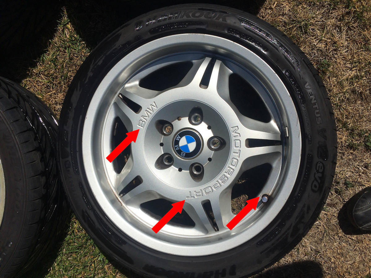 BMW E36 M3 LTW Motorsport wheels