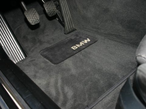 OEM BMW E30 floor mat option