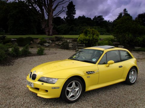 E36/8 Z3 M coupe Dakar Yellow II