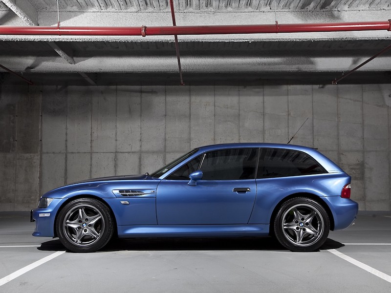 E36/8 Z3 M coupe Estoril Blue