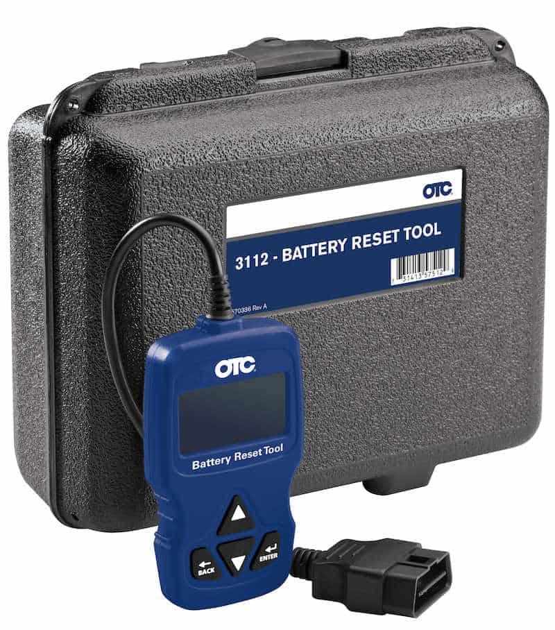 BMW Battery reset tool