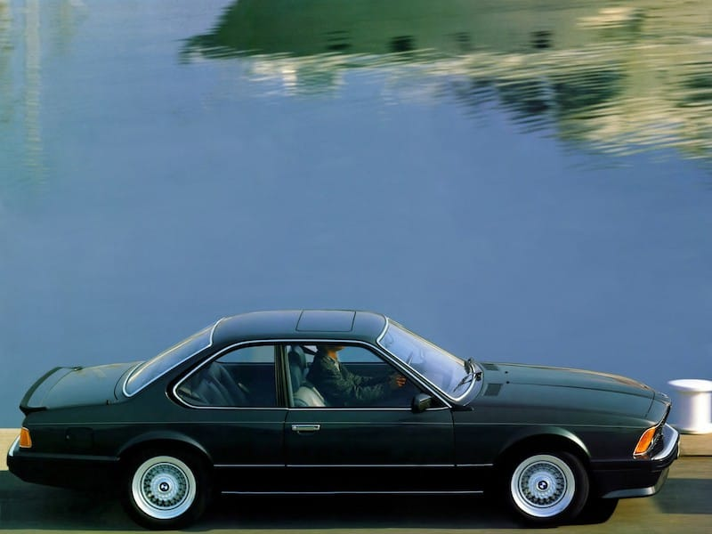 BMW E24 M6 M635CSi Black