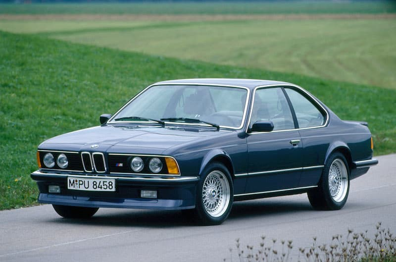 BMW E24 M6 M635CSi Blue