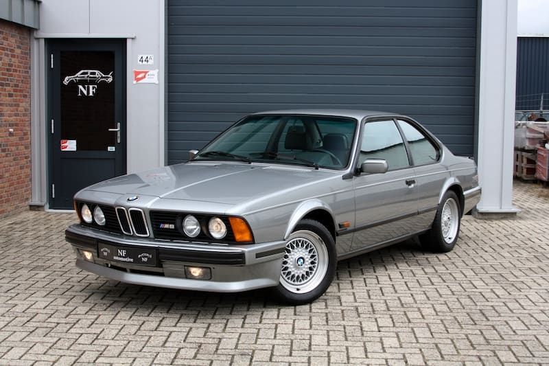 BMW E24 M6 M635CSi Gray