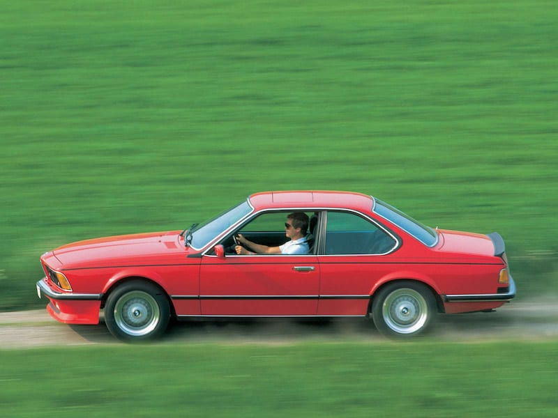 BMW E24 M6 M635CSi Red