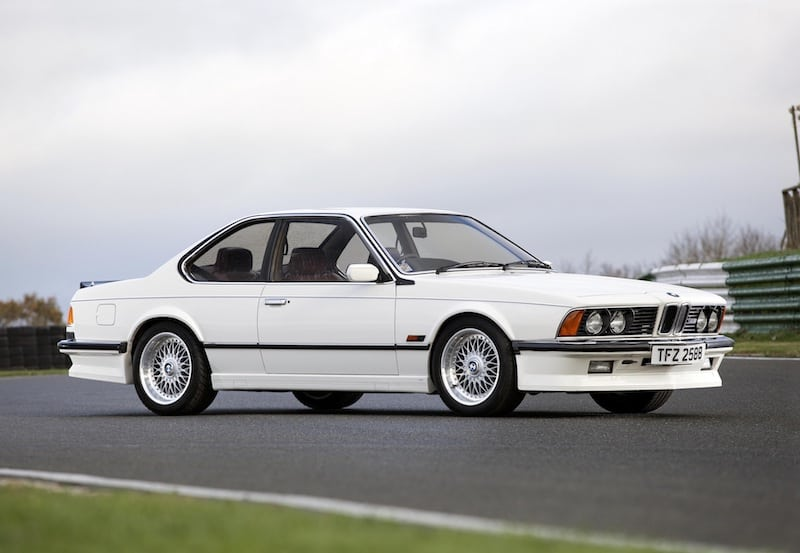 BMW E24 M6 M635CSi White