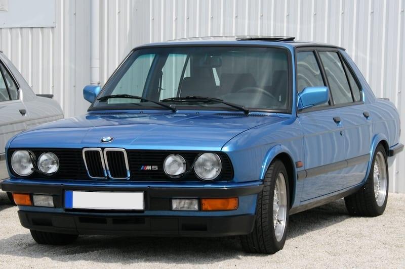 BMW E28 M5 Blue