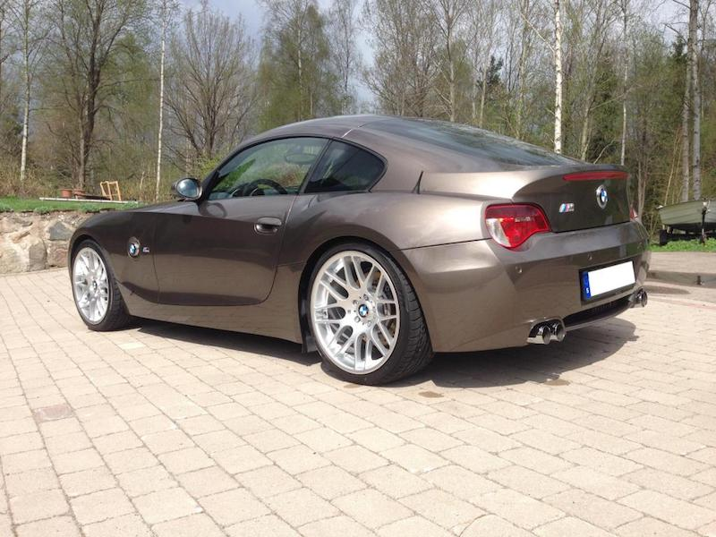 BMW E86 Z4 M Coupe Sepang Bronze rear quarter
