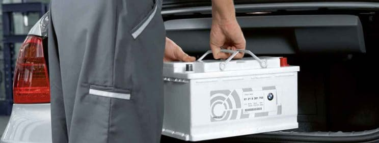 BMW battery reprogramming and registration