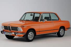 BMW 2002 Colorado Orange