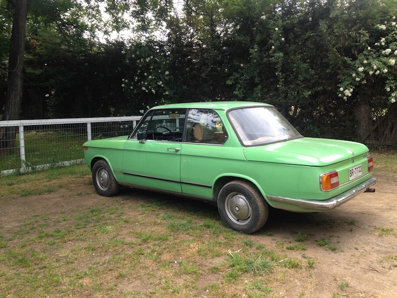 BMW 2002 Mint Grun
