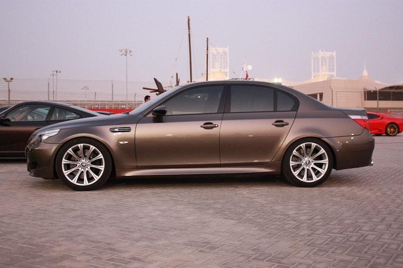 BMW E60 M5 Sepang Bronze