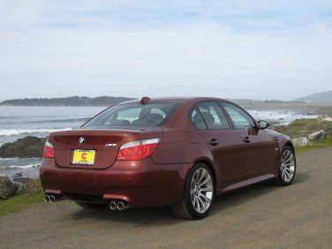 BMW E60 M5 Indianapolis Red