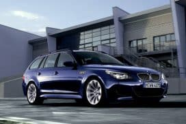 BMW E61 M5 Touring Interlagos Blue