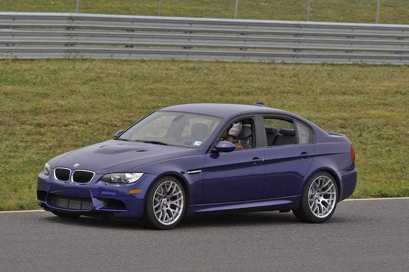 BMW E90 M3 Interlagos Blue