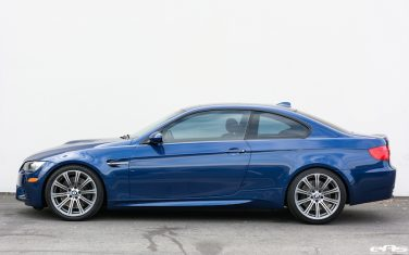 BMW E92 M3 LeMans Blue